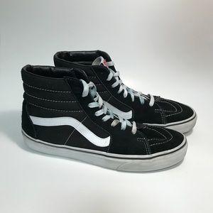 Van's Old Skool SK8-Hi Black skate shoe